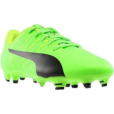 0193cb4a399 PUMA Junior Evopower Vigor 4 FG Soccer Cleats (Green Gecko) Size  1
