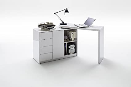 Beau MARTIN 2 In 1 Home Office Desk   Space Saving Desk And Sideboard  Combination   Modern