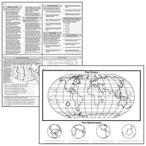Motivationusa activity posters basic map skills
