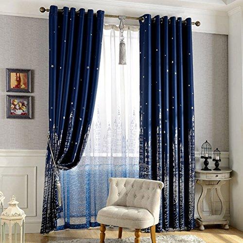 Peyan Curtain Bedroom Blackout Valance
