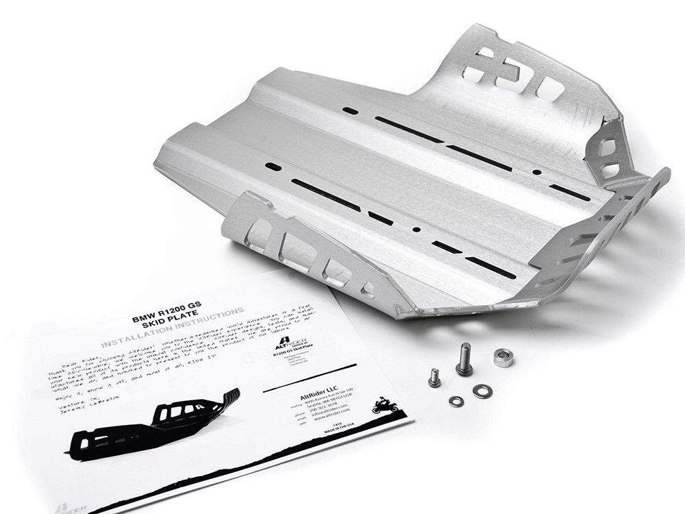 Black 2005-2012 AltRider R108-2-1200 Skid Plate for the BMW R 1200 GS //A