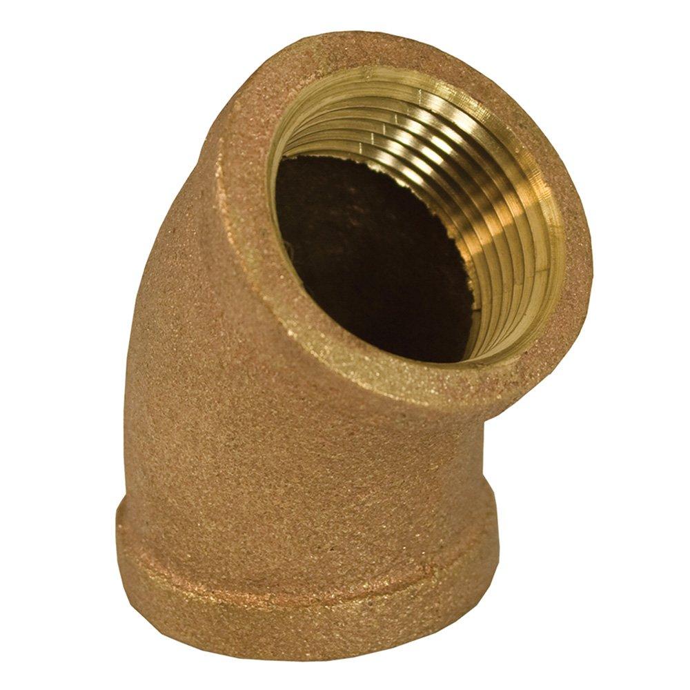 Jones Stephens Corp - 3/4 Bronze 45 Elbow (Lead Free)