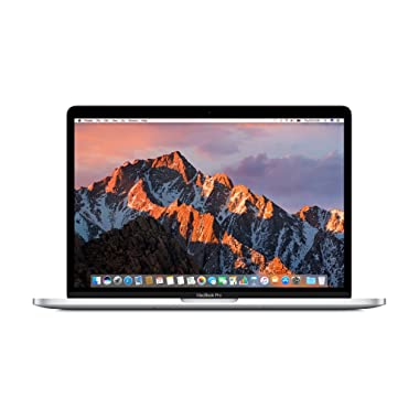 Apple MacBook Pro MLVP2LL/A 13 Laptop with Touch Bar, 2.9GHz dual-core Intel Core i5, 256GB Retina Display, Silver (Early 2017)