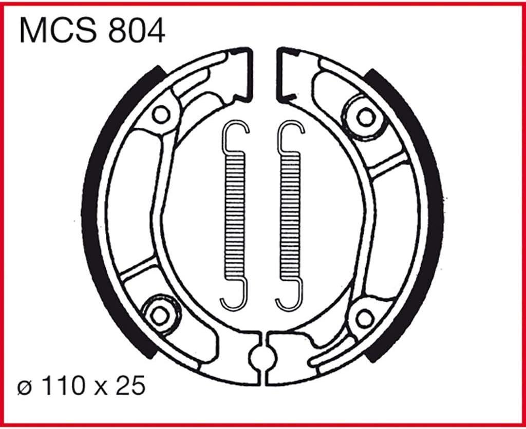 M/âchoires de frein TRW MTX 125 RW MTX125 83-95 arri/ère.