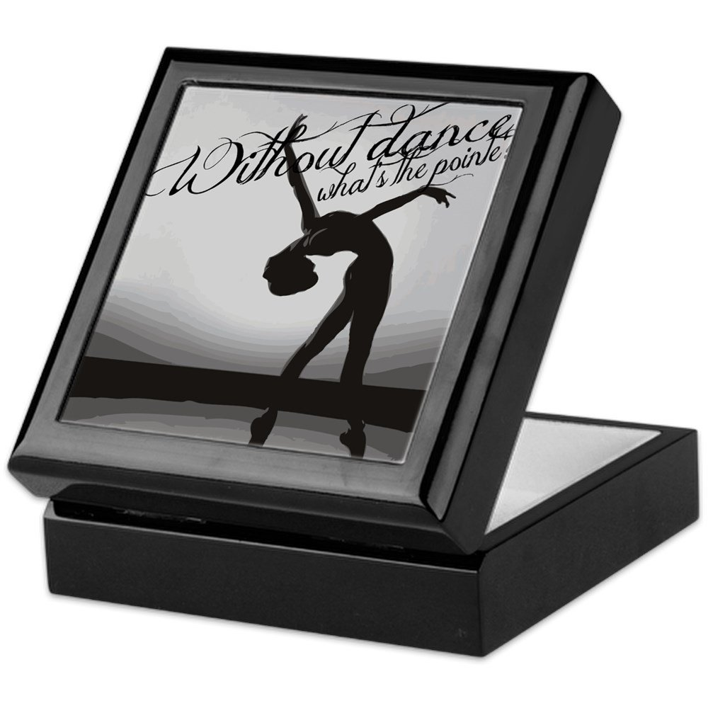 Ballet Dancer - Finished Hardwood Jewelry Box