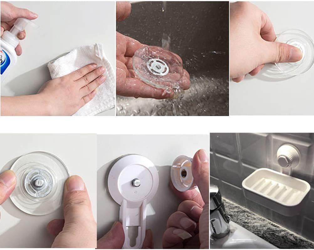 Seifenschale Halter Saugseife Saver Spender Vakuum Saugnapf Bar Seifenhalter für