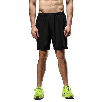 huge selection of 55dbc 5cdae SEEU Mens Running Shorts Black S