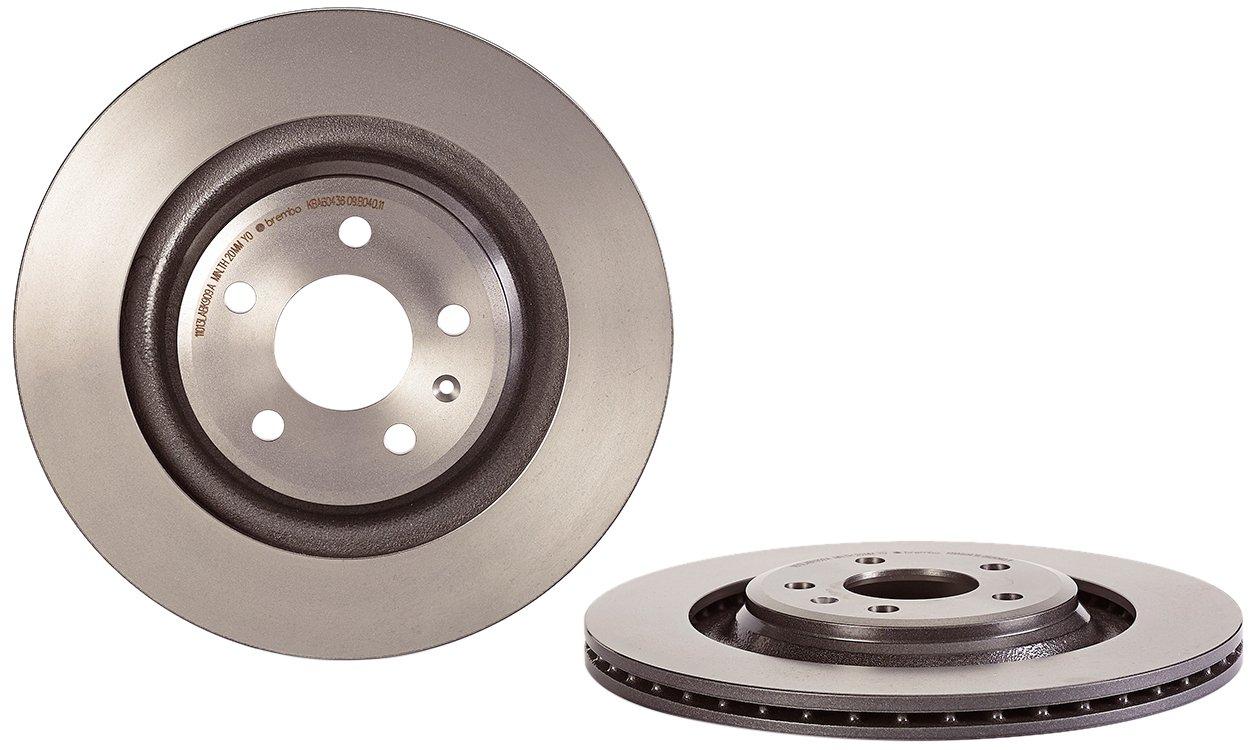Brembo 09.B040.11 Rear UV Coated Brake Disc - Set of 2 Brembo S.p.A.