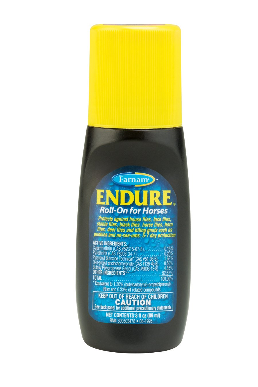 Amazon.com : Endure Roll-On Fly Repellant, 3oz : Horse Fly Control ...