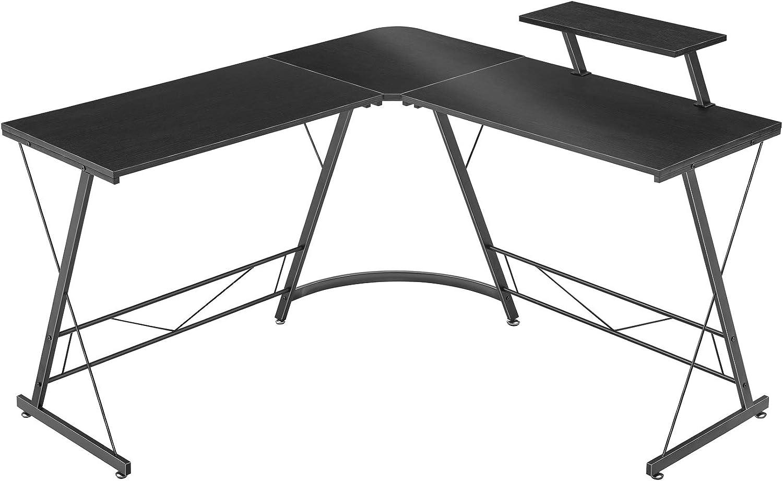 Mr IRONSTONE L-Shaped Desk 50.8″ Computer Corner Desk