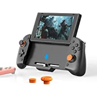 Switch Controller, Extended Grip Controller with Left and Right Joy Cons for Nintendo Switch, Wired Switch Pro…