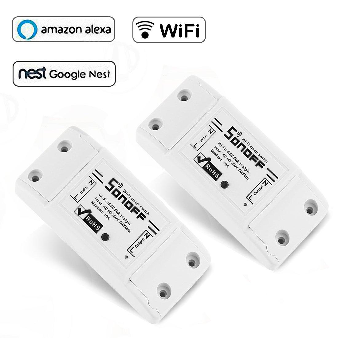 Opard Sonoff Basic Wifi Drahtlos Intelligentes Switch Intelligente ...