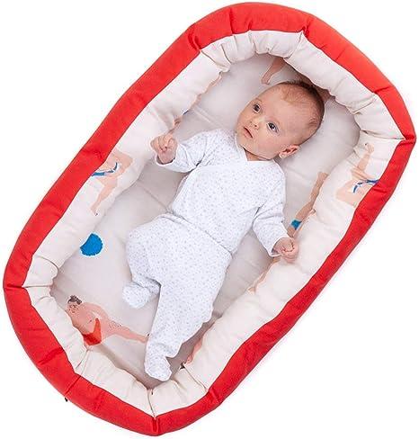 Nido para bebes nest reductor protector cuna para cama ...