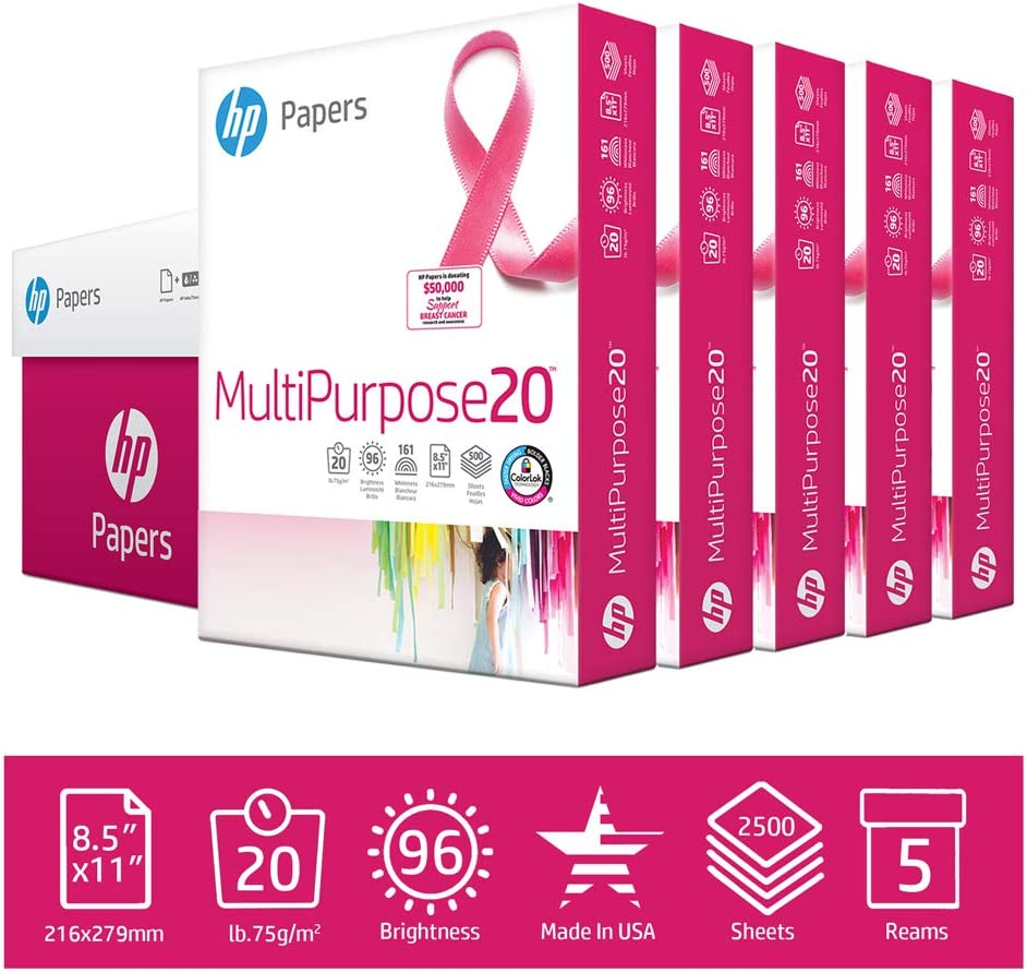 Support Breast Cancer Awareness With Pink Office Supplies - HP Papers, Sharpie, Post-it, Ampad, Westcott, Blueline, Ticonderoga, BIC, Pendaflex, and more!