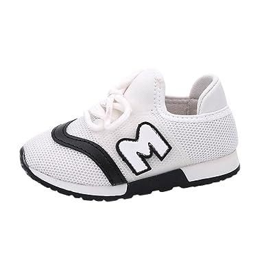 YanHoo Zapatos para niños Zapatillas niño y niña Zapatillas de Deporte para niños pequeños Zapatillas de