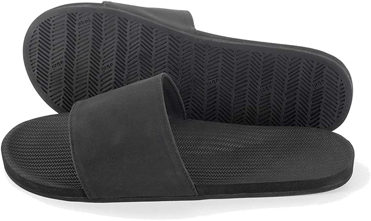 Indosole Women's ESSNTLS Limited price sale Vegan Slides Phoenix Mall Sole Tire Reused Natural