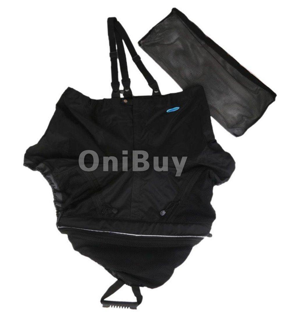 Kayak Accessories Skirt Waterproof Zipper Nylon 96cm Spray Skirt Universal for Kayaking Canoeing