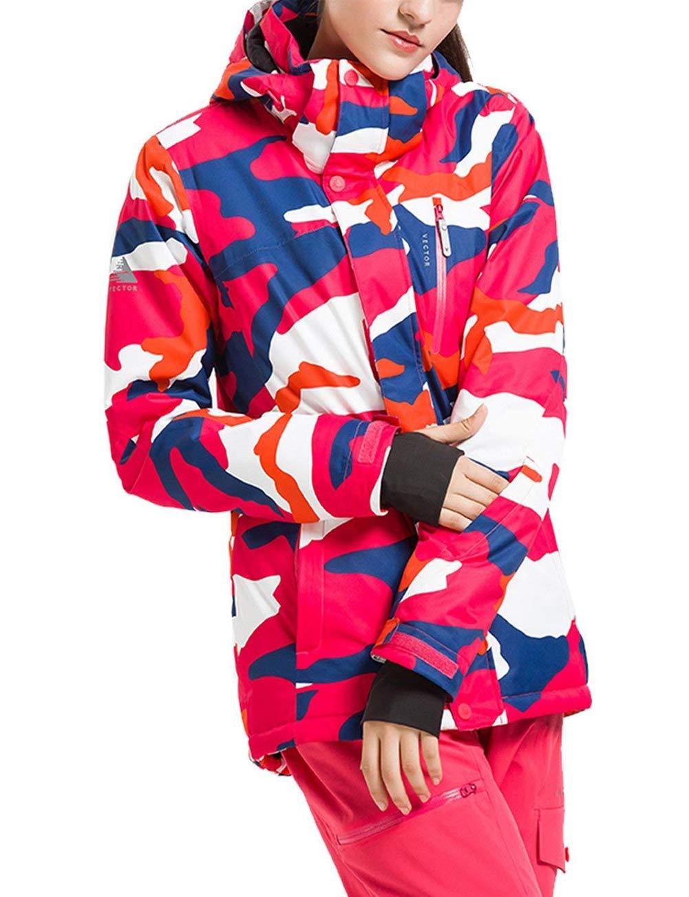 Women Ski Jacket Mountain Waterproof Windproof Rain Snow Coat Snowboarding Winter Warm Outdoor Outwear VECTOR