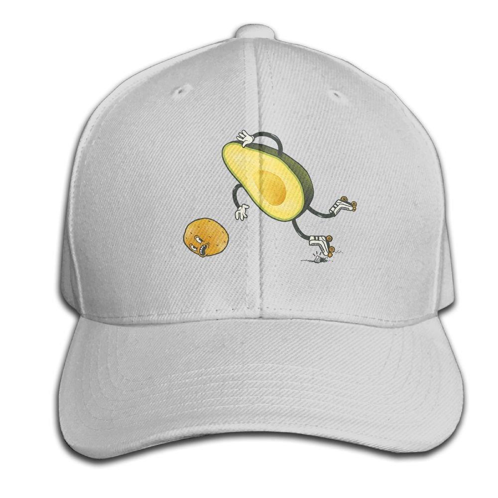 Blackycats11 Unisex Baseball Cap Wrestling Avocado Dad Hat Polo Style Adjustable