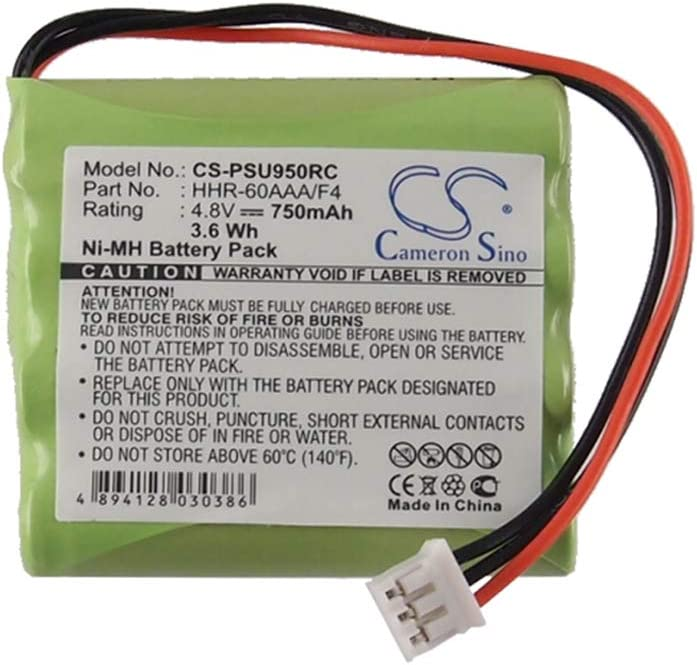 TS5200 RC9200,Touch Screen Green RC5200 Cameron Sino 700mAh//3.36Wh 4.8V Ni-MH Rechargeable Battery Light Weight 100/% New Replacement 8100 911 02101Batteries Compatible with Marantz 5000i