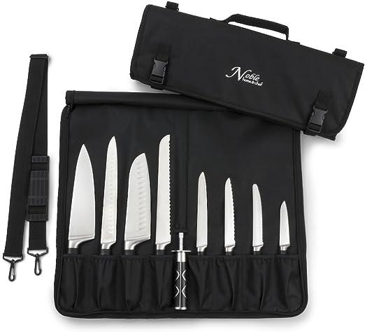bolsa para rollo de cuchillos, Bolsa para cuchillos de chef bolsa impermeable para herramientas estuche para herramientas