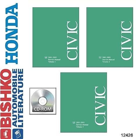 amazon com bishko automotive literature 2001 2002 2003 2004 2005 rh amazon com 2003 honda civic service manual pdf download 2003 honda civic service manual pdf