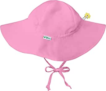 i play. by green sprouts Baby & Toddler Brim Sun Protection Hat | All-day UPF 50+ sun protection for head, neck, & eyes
