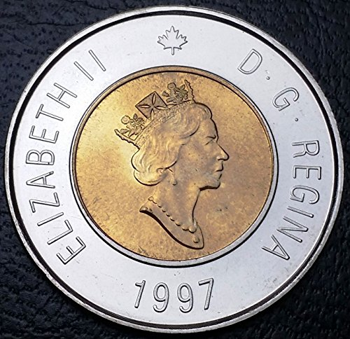 Unbranded 1997 CANADA $2 TWO DOLLAR TOONIEMINT CONDITION PROOF LIKE GREAT DETAIL