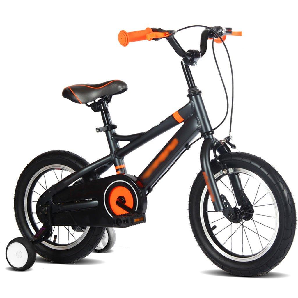 CGN子供の自転車、男の子自転車子供の女の子アルミニウム合金の赤ちゃんのベビーカー soft B07C4VG1XZオレンジ