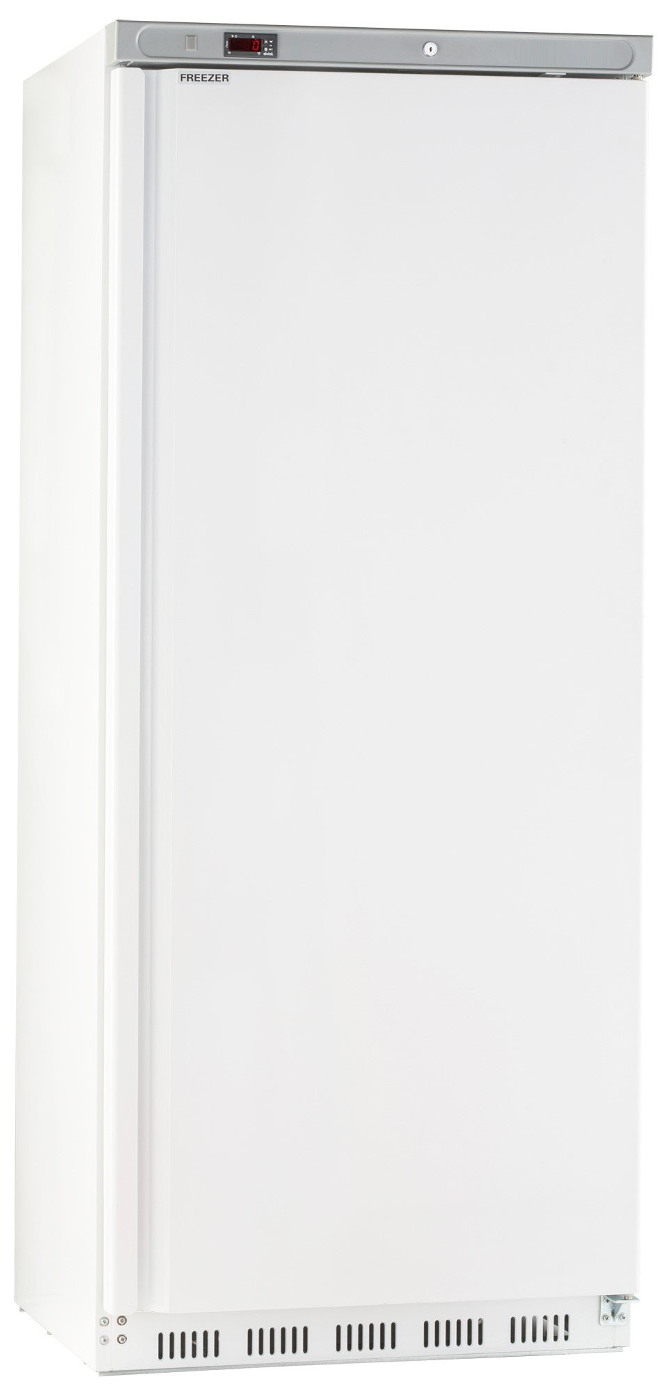 Chef's Exclusive CE307 23 Cubic Foot Commercial 1 Single Solid Door NSF Approved Sub Zero Reach in Upright Freezer with Automatic Defrost Bottom Mount Compressor, 30.6 inch Wide, White