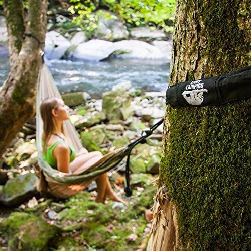 Legit Camping Portable Double Hammock - 400 lb Weight Capacity Various Colors