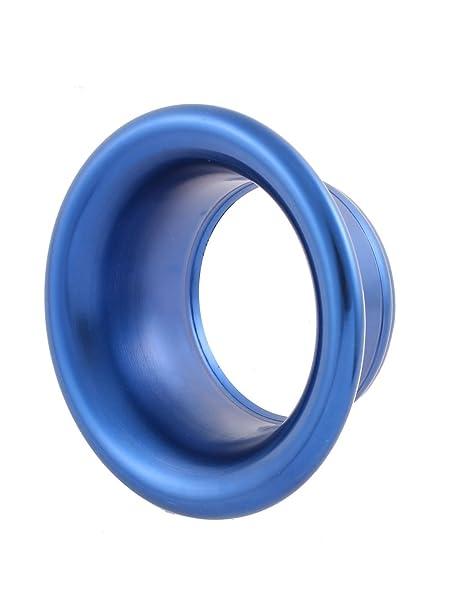 Amazon.com: eDealMax 3.6 fría del compresor de aire de admisión de entrada velocidad de la chimenea Turbo Cuerno Azul: Automotive