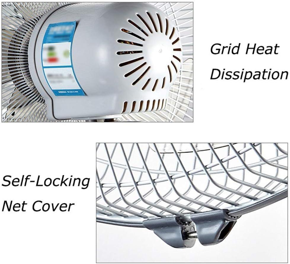 A Ventilateur Mural oscillant 3 Vitesses paroi 21 Pouces mont/ée Home Office Ventilateur Mural 60W avec t/él/écommande N