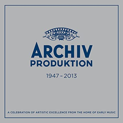 Archiv Produktion: Early Music Studio Of Deutsche Grammophon 1947-2013 [55 CD][Limited Edition Box set]