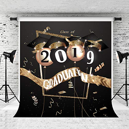 Kate 8x8ft 2019 Graduation Photography Backdrop Party Decor Banner Background Prom Night Decoration]()