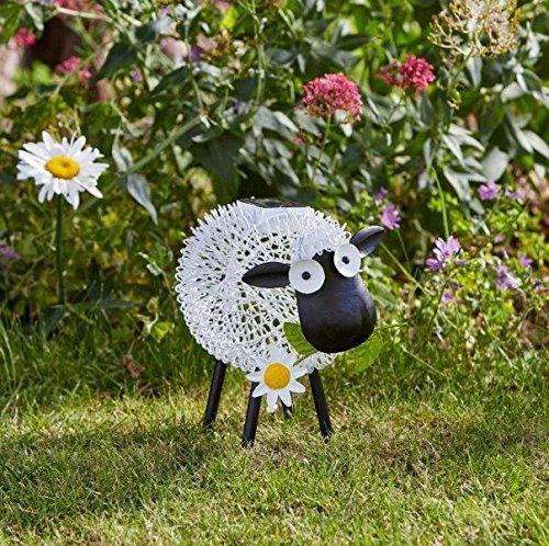 Smart Garden Outdoor Solar LED Garden Light Dolly Sheep Design, Changing Colour