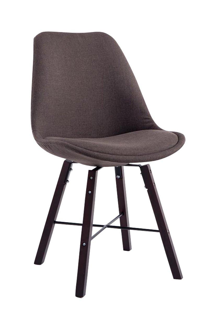 besucherstuhl laffont stoff cappuccino dunkelgrau online bestellen. Black Bedroom Furniture Sets. Home Design Ideas