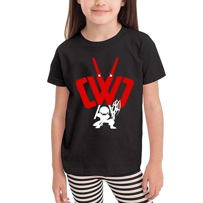 Amazon.com: CWC Chad Wild Clay Ninja Boys Girls Short Sleeve ...