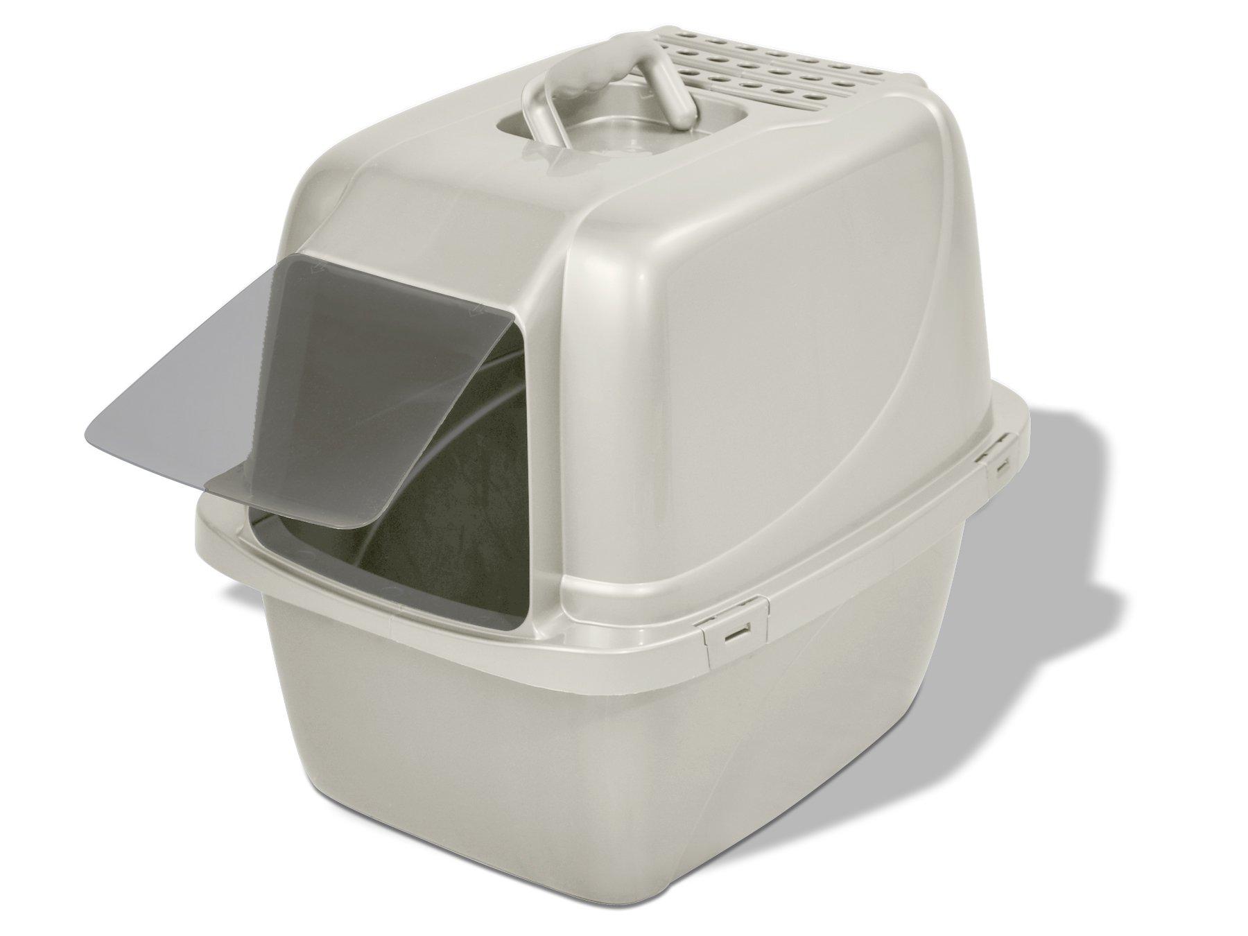 Van Ness Odor Control Large Enclosed Cat Pan with Odor Door - #CP6 by Van Ness