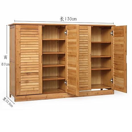 Wooden Shoe Cabinet Bamboo Shoe Rack Solid Wood,simple,shoebox Storage Room  Shoe Rack