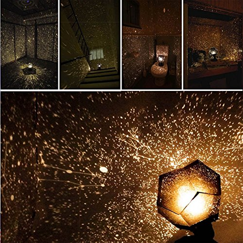 Sky Garden Recessed Light (Home Decor Romantic Astro Star Sky Projection Cosmos Night Light Lamp YK)