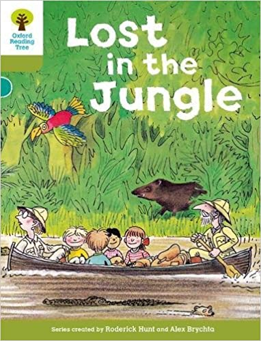 amazon oxford reading tree level 7 stories lost in the jungle