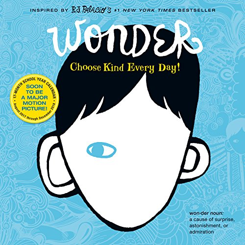 Book cover from Wonder Wall Calendar 2018by R.J. Palacio