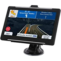 GPS Navigation for car, GPS Navigator System with Free Lifetime Maps, 7 Inch HD Touch Screen, 8GB Voice Broadcast Function, Driving Alert.