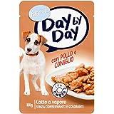 Adoc Day By Day Pollo e Coniglio per cani adulti, confezione da 24 pezzi