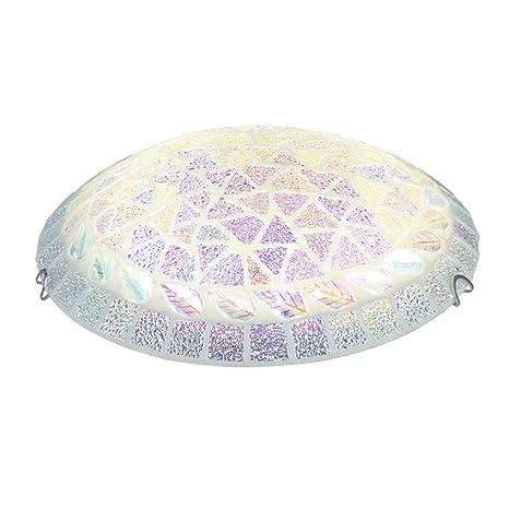 Amazon.com: Lámpara de techo LED de cristal moderno, estilo ...