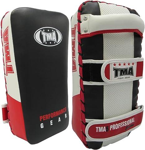 Thai Pad Kick Boxing Strike Curved MMA Focus Muay Thai Punch Shield Mitt