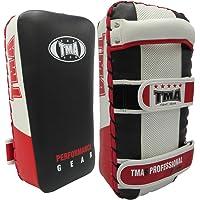 TMA Kick Boxing Strike Curved Thai Pad MMA Focus Muay Thai Punch Shield Mitt