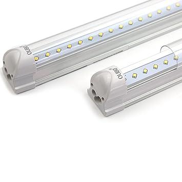 OUBO 90cm LED Leuchtstoffröhre komplett Set mit Fassung Neutralweiss ...