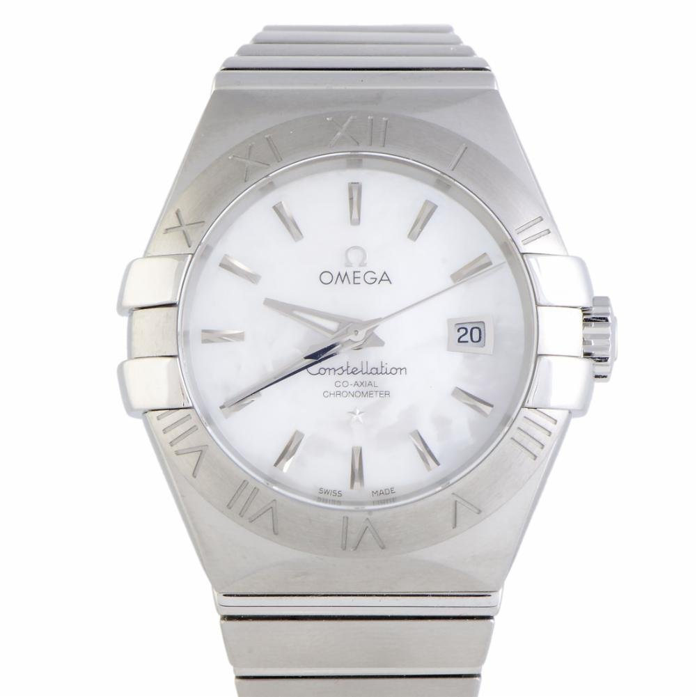 Omega Constellation automatic-self-wind womens Watch 123.10.31.20.05.001 (Certified Pre-owned)